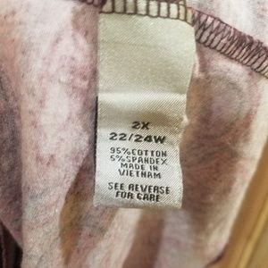Catherines Tops - Long Sleeve Baroque Beauty Top